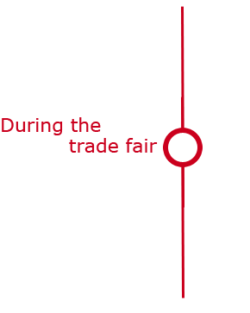 Graphic: During the trade fair