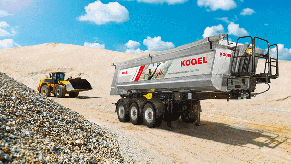 Kögel displays trailers and solutions with diverse benefits