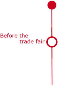 Graphic: Before the trade fair